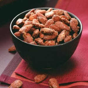 Sweet-Hot Spiced Nuts