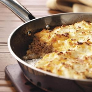 Skillet Shepherd's Pie For 2