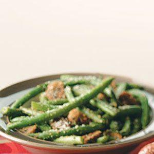 Julia's Green Beans & Mushrooms