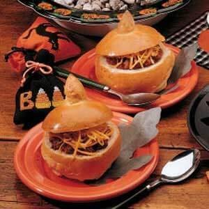 Pumpkin Bread Bowls