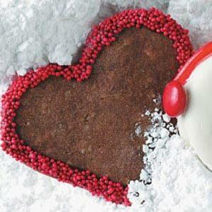 Festive Chocolate Hearts