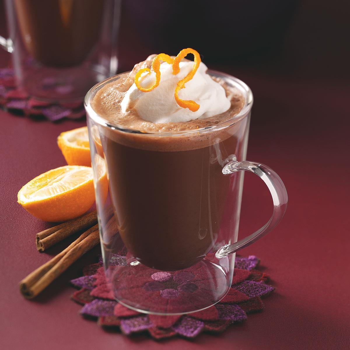 Frothy Mexi Mocha Coffee Recipe Taste Of Home