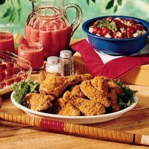 Crispy Picnic Chicken