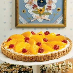 Peaches 'n' Cream Tart