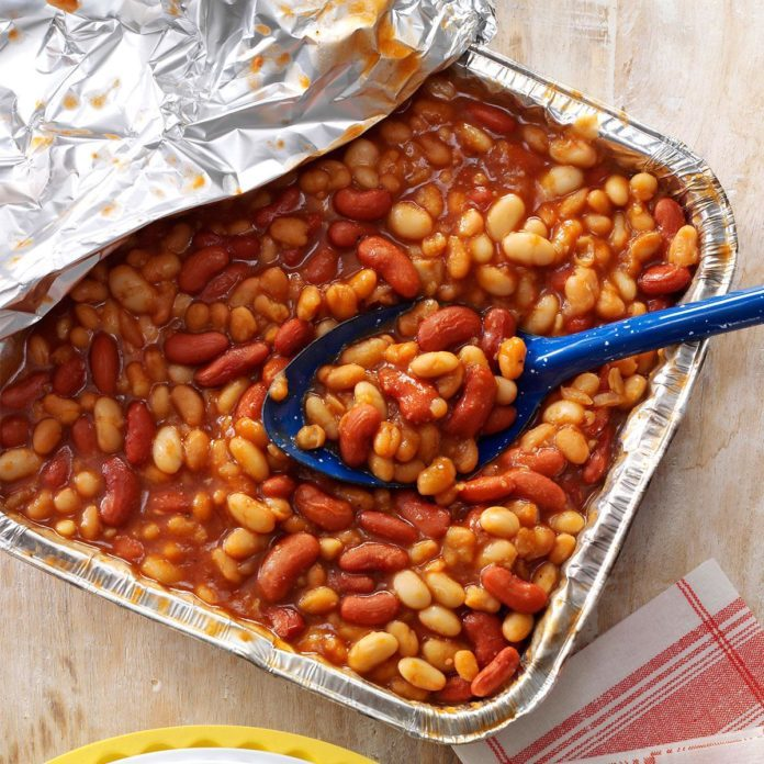 Grilled: Quick Barbecued Beans