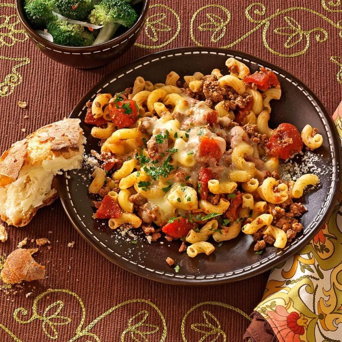 Stovetop italian macaroni recipe taste of home stovetop italian macaroni forumfinder Gallery