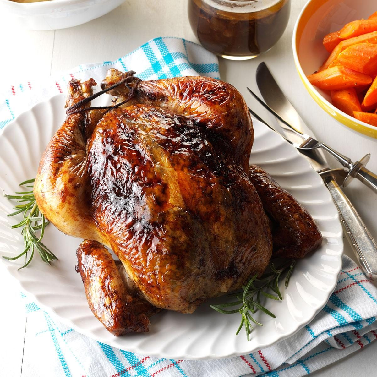 Balsamic Roast Chicken Recipe