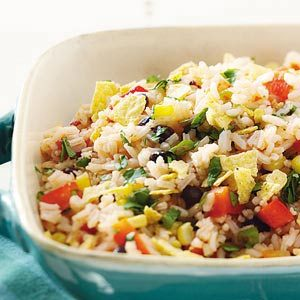 Minute Rice Southwestern Rice Salad