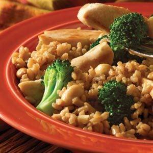 Easy Teriyaki Chicken & Brown Rice Dinner