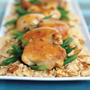 30 Minute Almond Chicken
