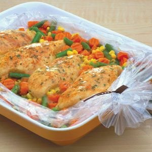 Creamy Chicken & Vegetables