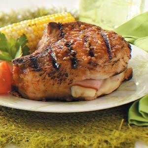 Ziploc Cordon Bleu Pork Chops