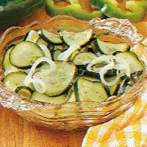Ziploc Sweet 'N' Tangy Freezer Pickles