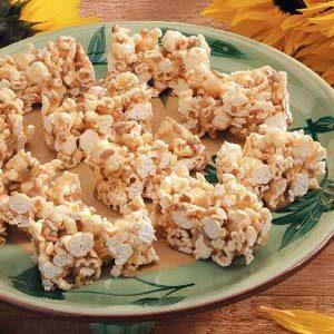 Ziploc Sunflower Popcorn Bars