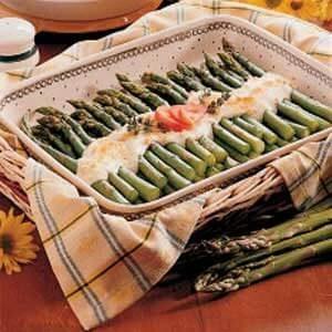 Asparagus Mornay