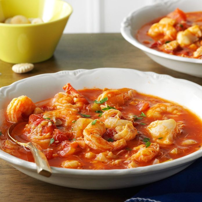 Day 21: Seafood Cioppino