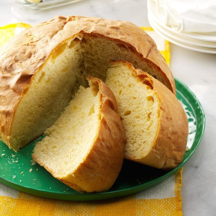 Candied Lemon Christmas Bread