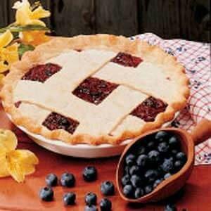 Bonnie Blue-Barb Pie