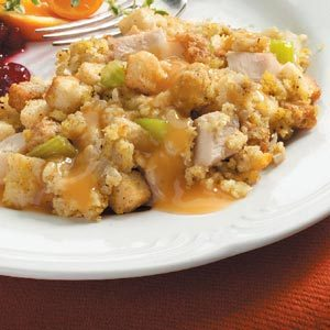 Chicken and Dressing Dish