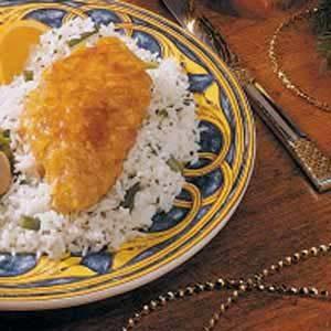 Orange-Glazed Chicken
