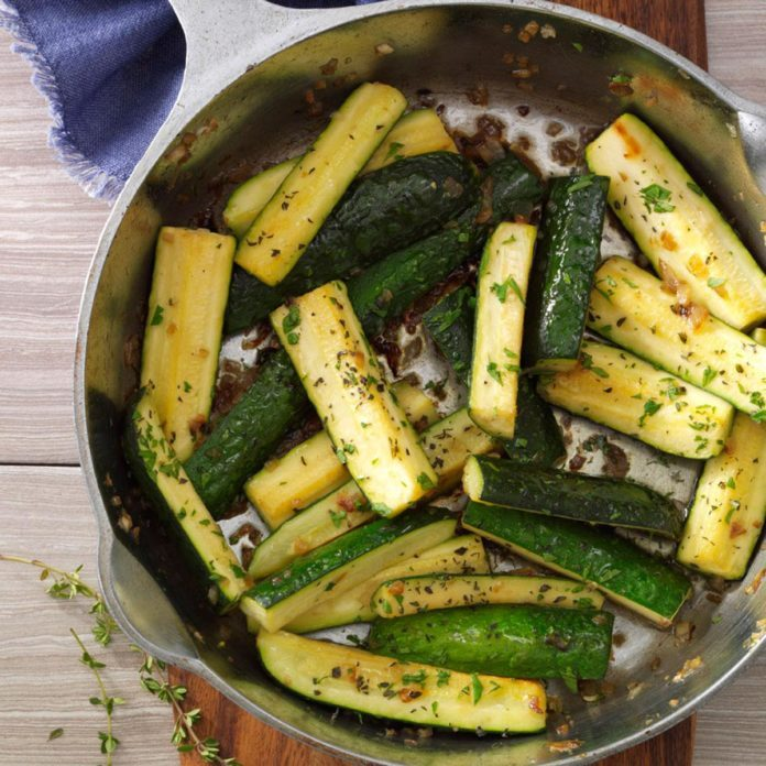 Thyme: Thymed Zucchini Saute