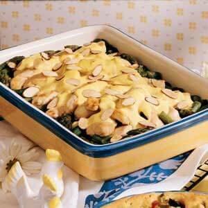 Lemon-Curry Chicken Casserole