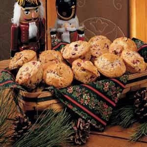 Pecan Cranberry Muffins