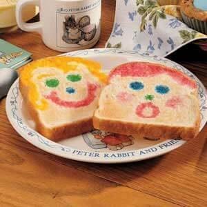 Funny Face Toast