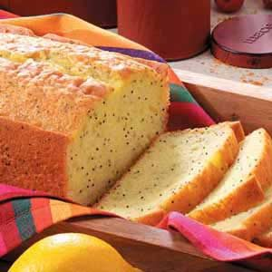 Poppy Seed Bread With White Cake Mix