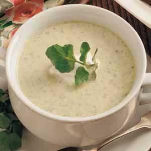 Asparagus Cress Soup