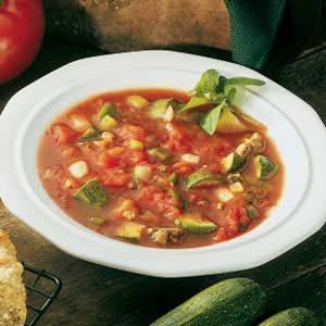 Italian Zucchini Soup