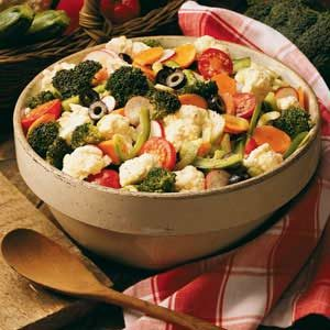Savory Marinated Vegetables