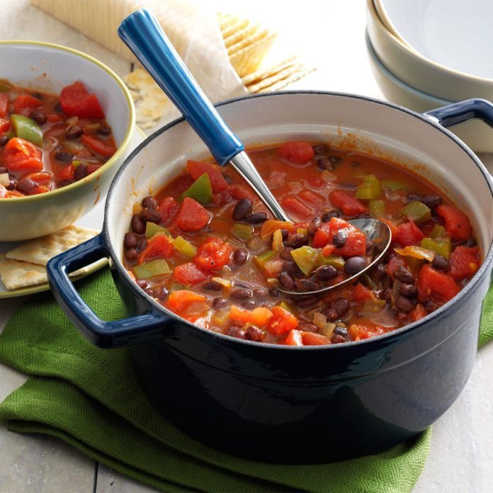 Black Bean-Tomato Chili