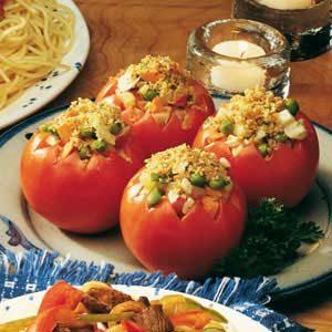 Stuffed Garden Tomatoes