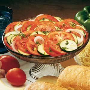 Zesty Tomato Zucchini Toss