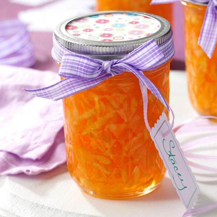 Zucchini Peach Jelly