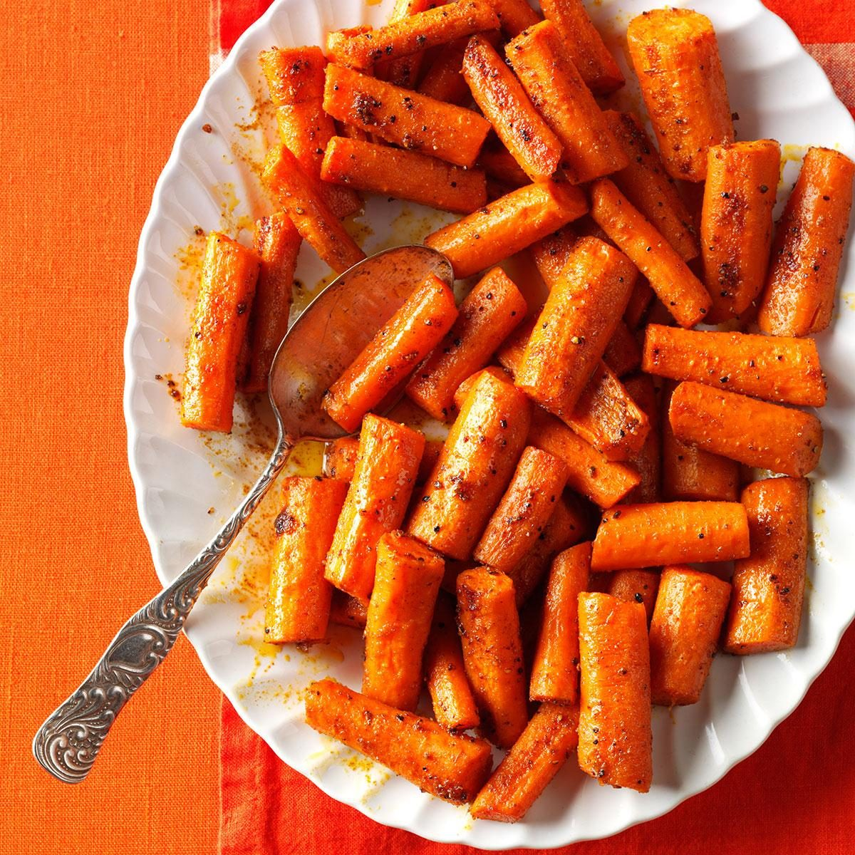 Oven-Roasted Spiced Carrots