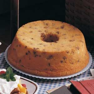 Black Walnut Pound Cake