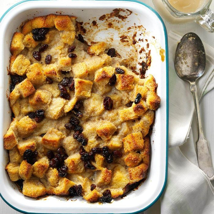 Bread Pudding with Nutmeg