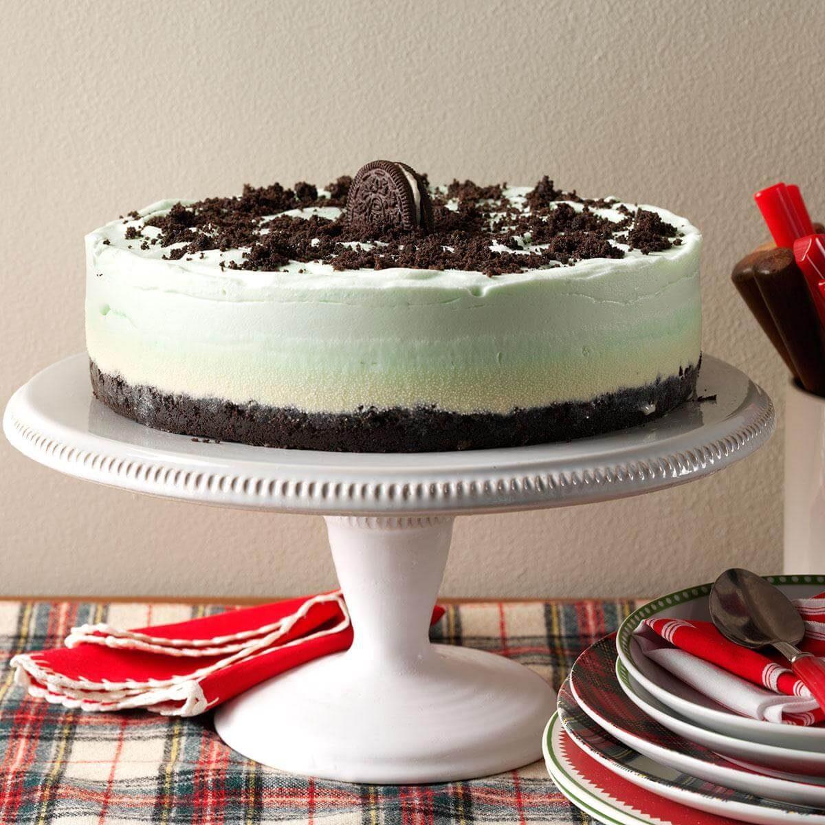 Frozen Grasshopper Torte Recipe