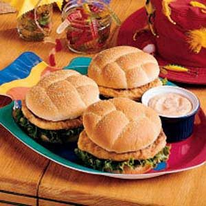 Saucy Fish Sandwiches