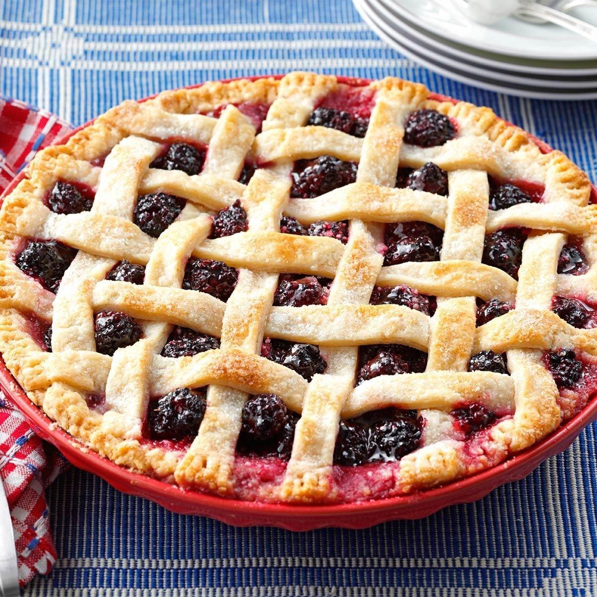 Oregon's Best Marionberry Pie Recipe