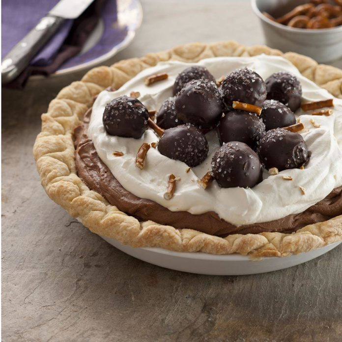 Sweet & Salty Truffle Pie