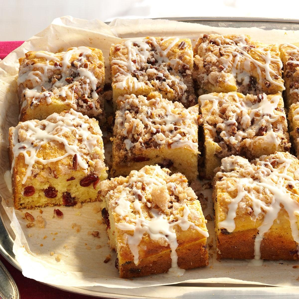 Egg Nog Using Heavy Cream: Overnight Cranberry-Eggnog Coffee Cake Recipe