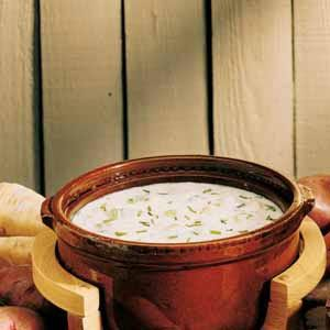 Sour Cream Potato Soup