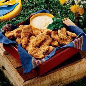 Sesame Chicken Strips