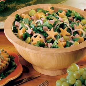 Superstar Spinach Salad