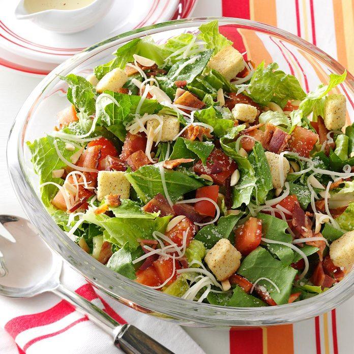 Prep side salads ahead.