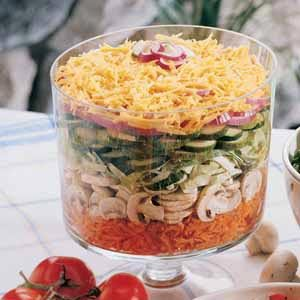 Harvest Layered Salad