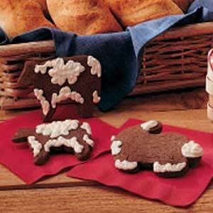 Chocolate Farmyard Cookies